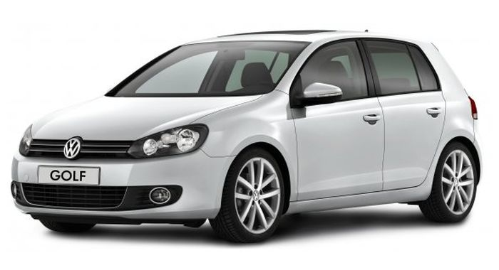 Volkswagen Golf 6 car rental in Kyiv