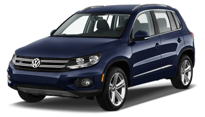 Volkswagen Tiguan car rental in Kyiv