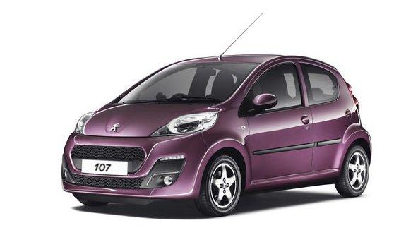 Peugeot 107 car rental