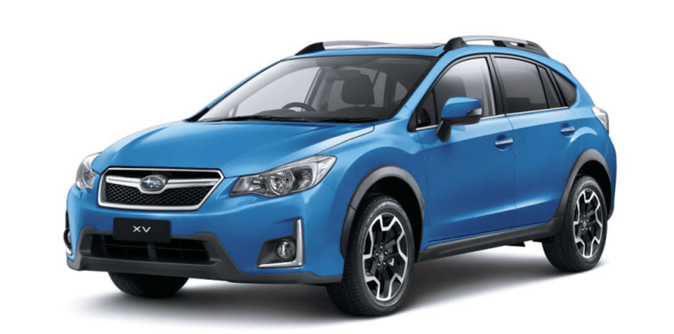 Subaru XV car rental in Kyiv